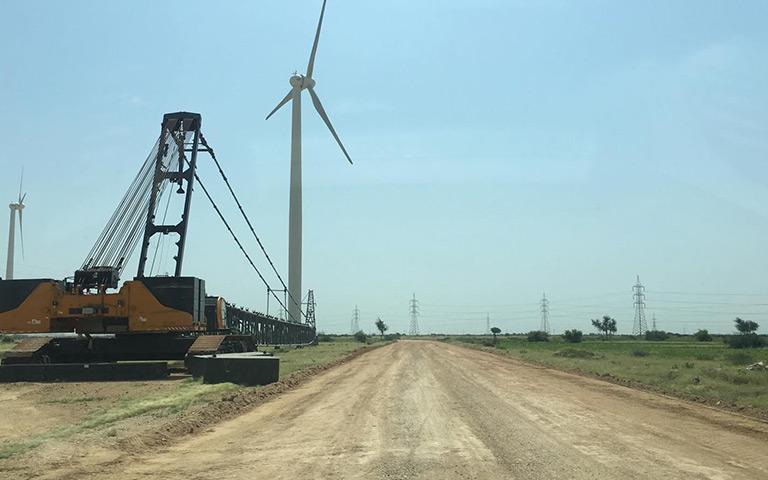 三峡一期(TGF)风电场道路施工2